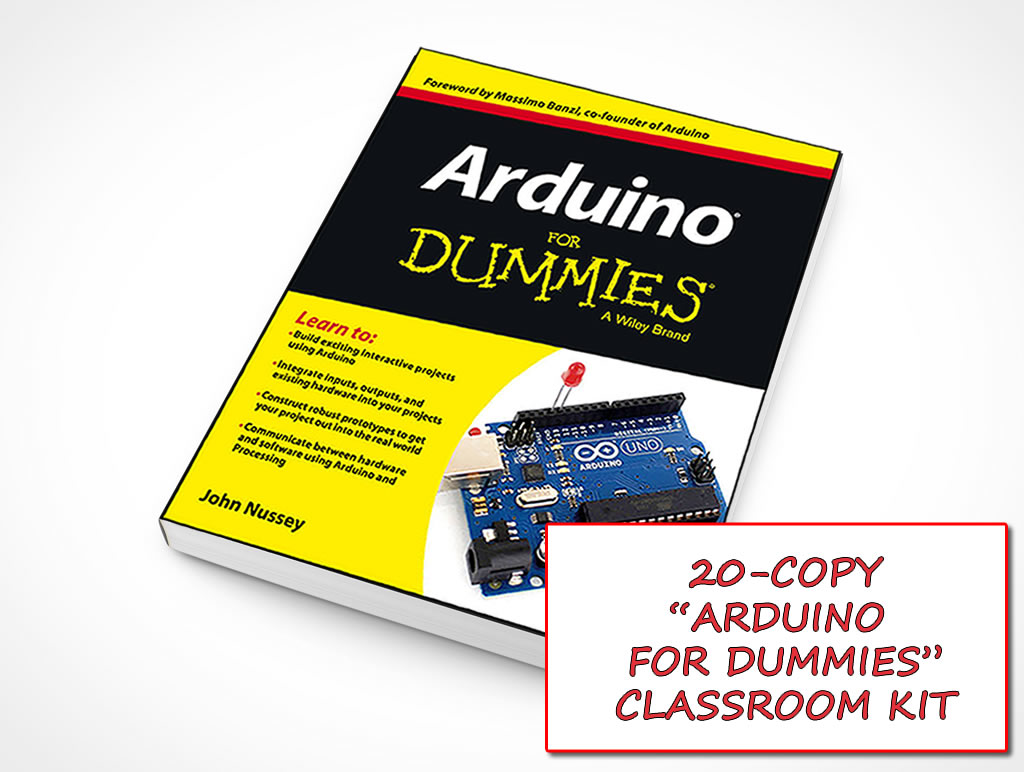 Arduino for dummies class kit plaz tech educational