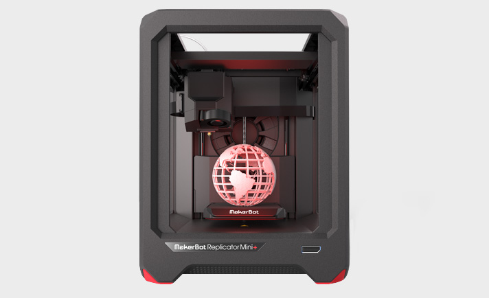MakeBot Replicator Mini+ Compact 3D Printer