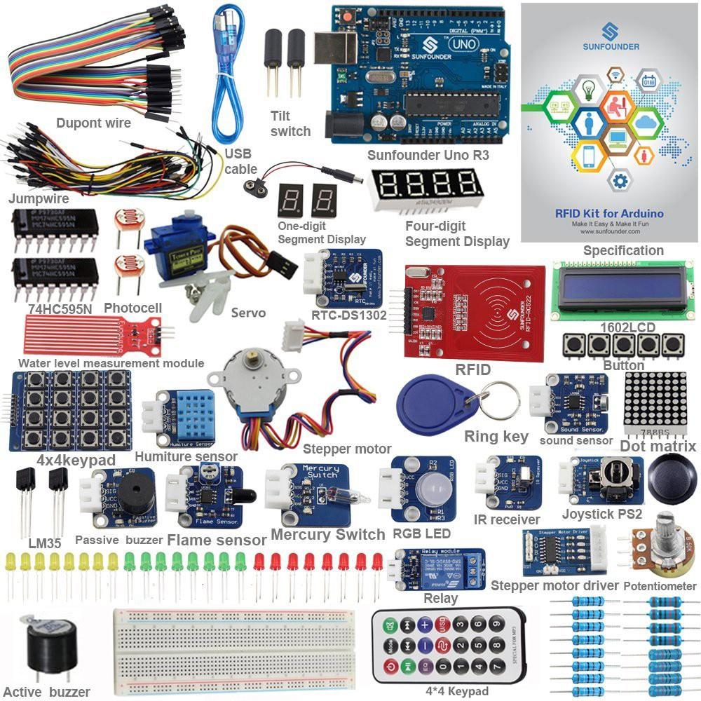 SunFounder RFID Learning Kit V2 0 for Arduino