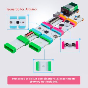 EC-Block Kit: An Easy to Connect Electronics Building Block Sensors STEM Starter Kit for Arduino Beginners